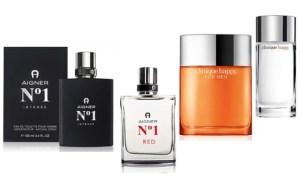 Clinique or Aigner Fragrances