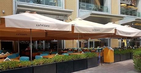 Lebanese Food at Cafe Blanc Dubai Mall