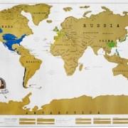 Scratch the World Map