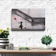 Banksy Canvas Wall Print