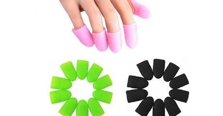 Silicone Nail Polish Remover Caps