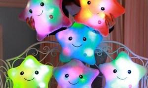 China Glaze LED Star Pillow