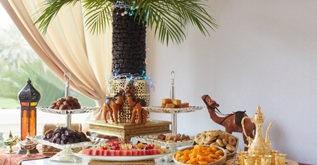 Iftar Buffet at Kempinski Hotel the Palm