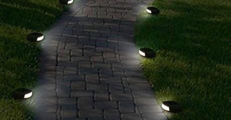 Solar Path LED Stone Lights