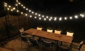 Solar-Powered Light Bulbs String