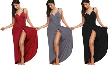Wrap-Around Beach Dress