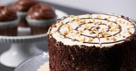 Cake at 5* Marriott Al Jaddaf