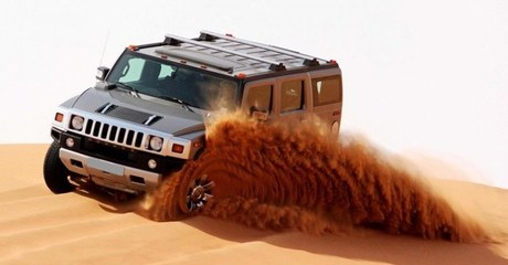 Hummer Safari: Child (AED 139) or Adult (AED 169)