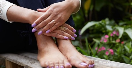 Ladies can enjoy classic or gelish manicure and pedicure with hands and feet paraffin