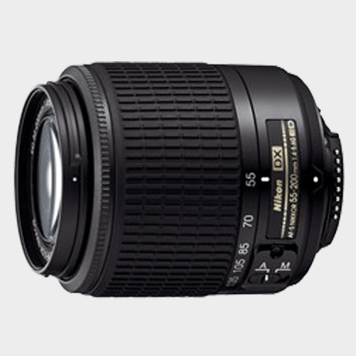 Nikon Lens AF-S DX Zoom-NIKKOR 55-200mm f/4-5.6G in Qatar