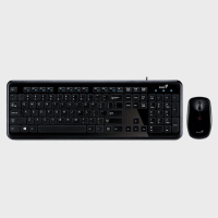 Genius Wireless Keyboard + Mouse Slimstar i8050 Best Price in Qatar and Doha