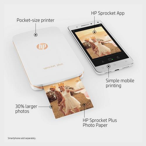 HP Sprocket Plus Printer 2FR85A Price in Qatar Lulu
