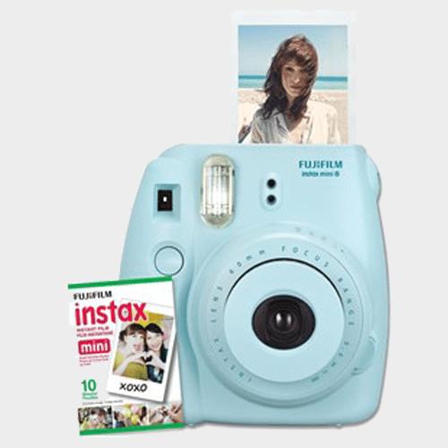 Fujifilm instax mini 8 Instant Camera Blue Price in Qatar and Doha