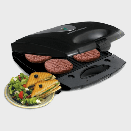 Black&Decker Sandwich Maker TS4080-B5 Price in Qatar souq