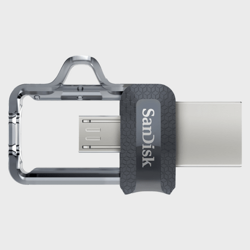 Sandisk Dual Flash Drive SDDD3G46 64GB price in qatar lulu