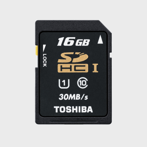 Toshiba SD Card C10 T016UHS1 16GB Best Price in Qatar and Doha