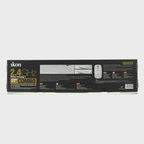Ikon Wireless keyboard IKKB520GCM + Mouse Price in Qatar and Doha
