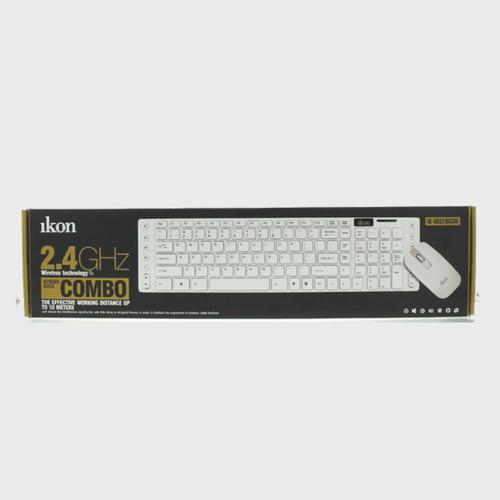 Ikon Wireless keyboard IKKB520GCM + Mouse Price in Qatar Lulu - Souq.Com