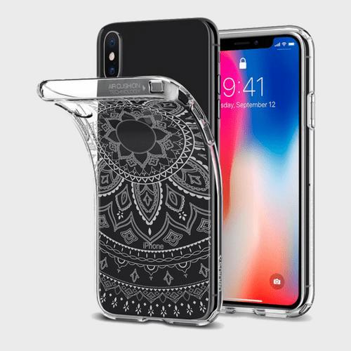 Spigen iPhone X Case Liquid Crystal Shine price in Qatar lulu