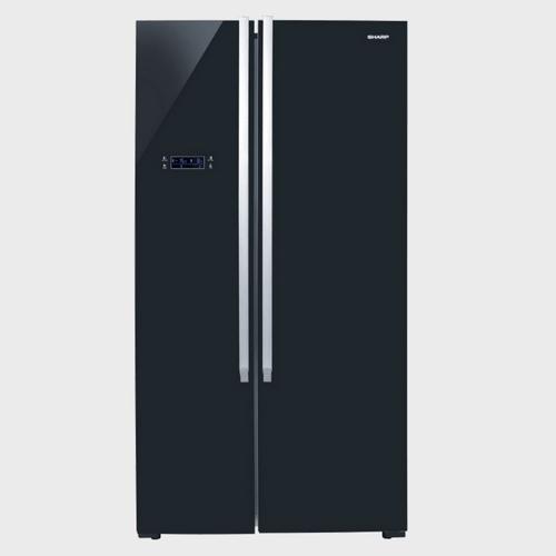 Sharp Side By Side Refrigerator SJX640BK3 640Ltr Price in Qatar Lulu