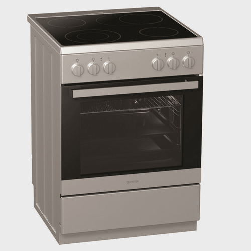 Gorenje Ceramic Cooking Range EC617E10KXV 60X60 4Burner price in Qatar