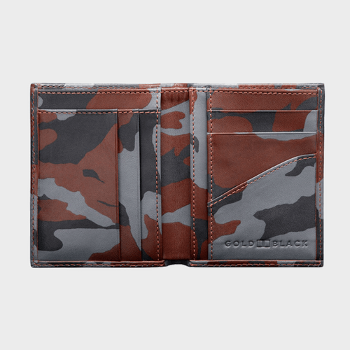 Goldblack Bifold Slim Wallet Camouflage price in qatar souq