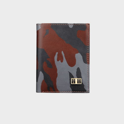Goldblack Bifold Slim Wallet Camouflage price in qatar