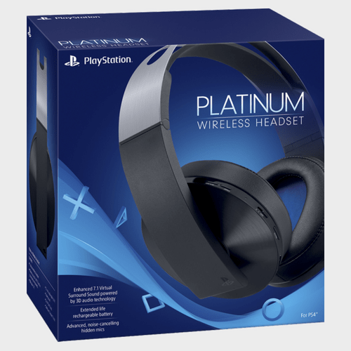 Sony PlayStation 4 Platinum Wireless Headset Price in Qatar