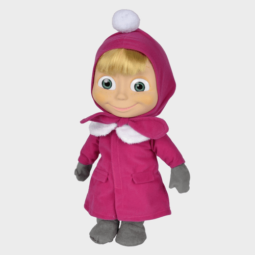 Masha And The Bear - Masha Soft Bodied Doll 40cm 109301676 price in Qatar