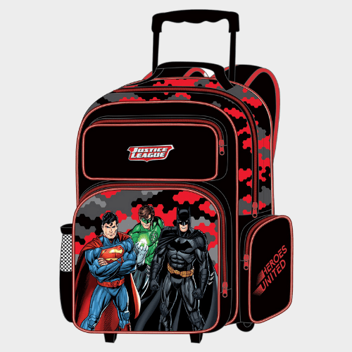 Justice League School Trolley Value Pack Set of 5Pcs FK160532 Price in Qatar lulu