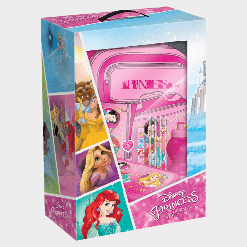 Disney Princess School Trolley Value Pack 12in1 Set FK-100387 Price in Qatar