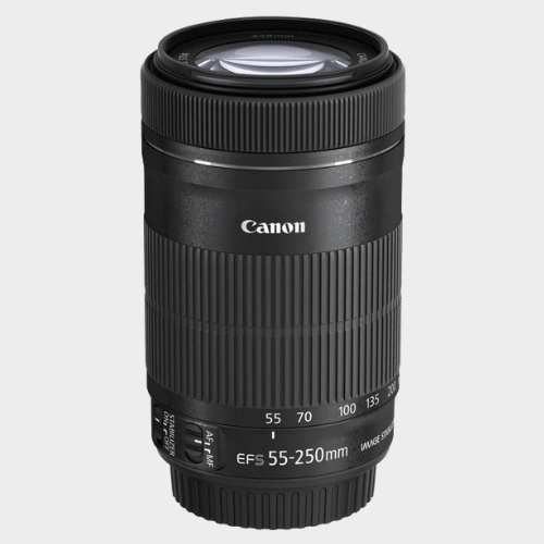 Canon EF-S 55-250mm f/4-5.6 IS STM Lens price in Qatar souq