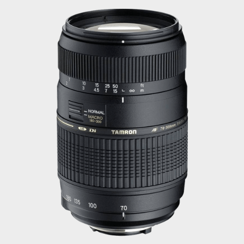 Tamron AF 70 - 300 mm F/4-5.6 Di LD Macro 1:2 for Nikon Digital SLR Lens price in Qatar souq