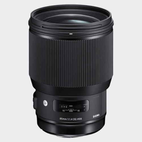 Sigma 85mm F/1.4 DG HSM Art lens for Nikon DSLR Cameras Lens price in Qatar lulu