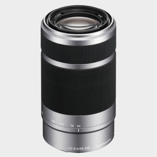 Sony E 55-210mm f/4.5-6.3 OSS E-Mount Silver Lens price in Qatar