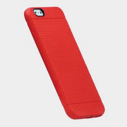 Promate Flexi i6P Flexible iPhone 6 Plus/6S Plus Case Red Price in Qatar