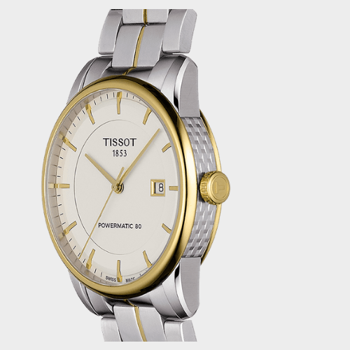Tissot Powermatic 80 Ivory Men's Watch T0864072226100 Price in Qatar souq