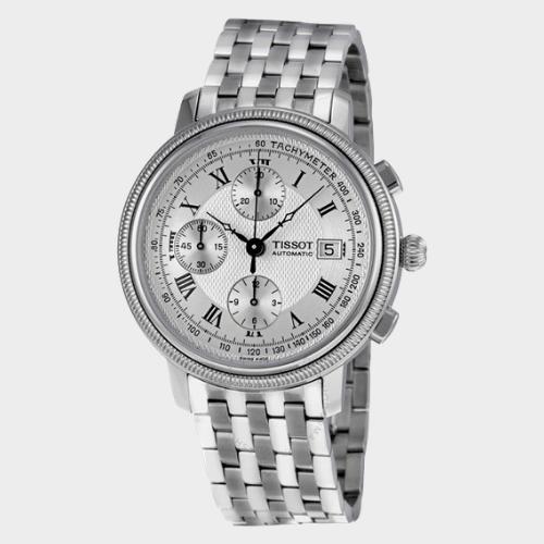 Tissot Bridgeport Stainless Steel Men's Watch T0454271103300 Price in Qatar