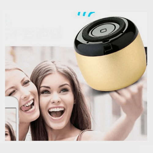 Multi-Color Coin-Sized Aluminum Wireless Rechargeable Bluetooth Speaker Price in Qatar