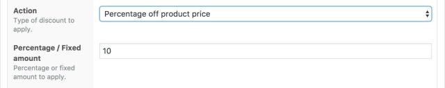 WooCommerce affiliate links discount
