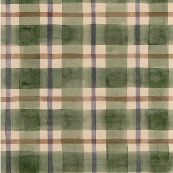 Ig30233-green Purple & Brown Plaid