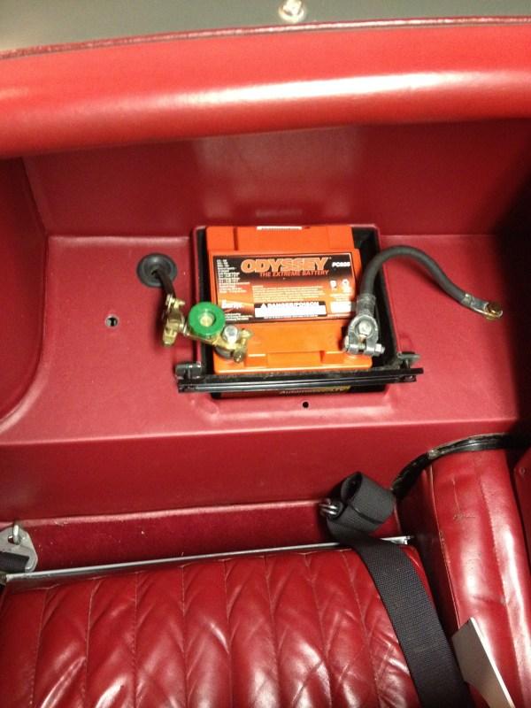 1954 Xk120 Batteries - Xk Jag-lovers Forums