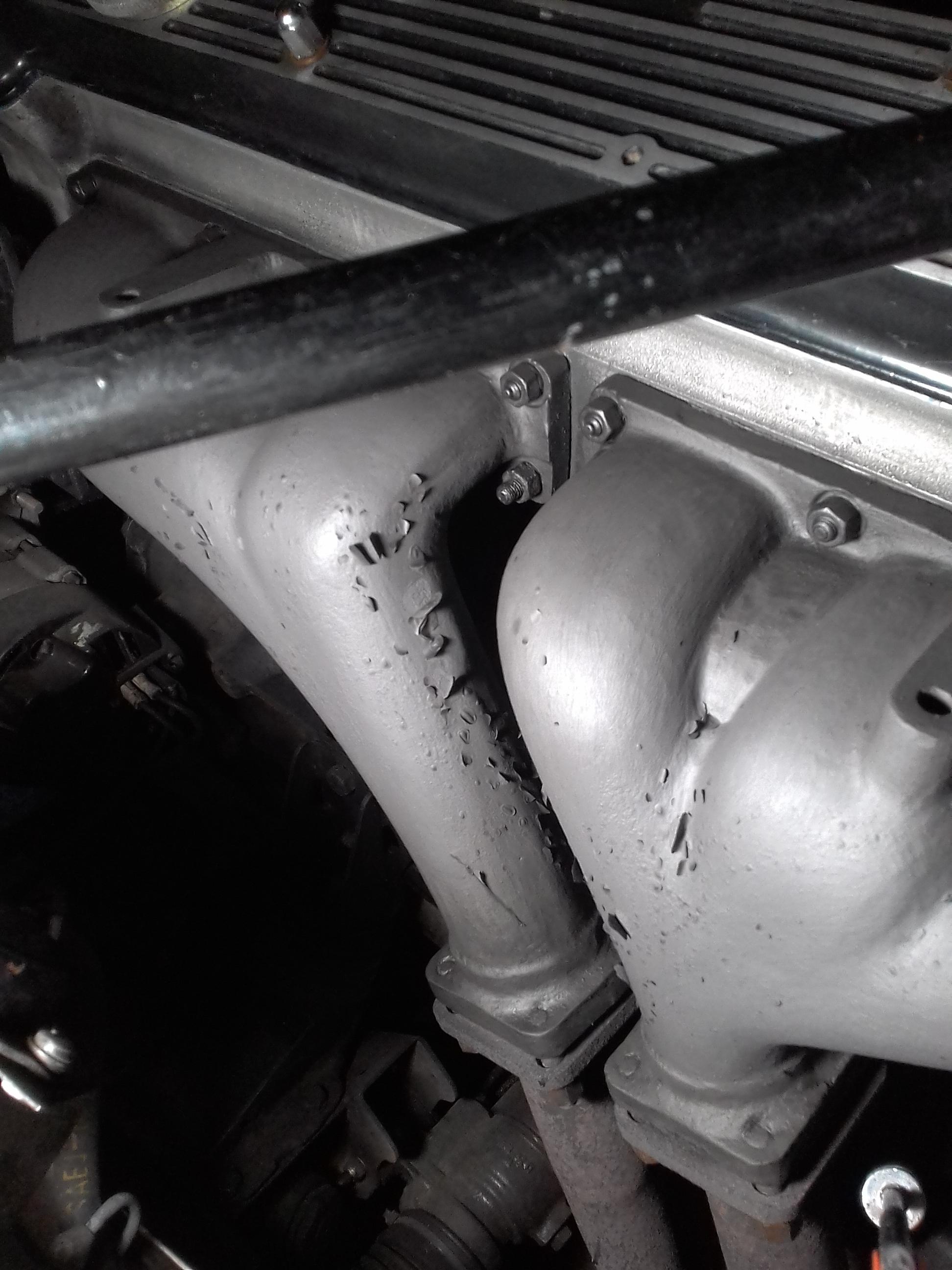 manifold coating still failing xj