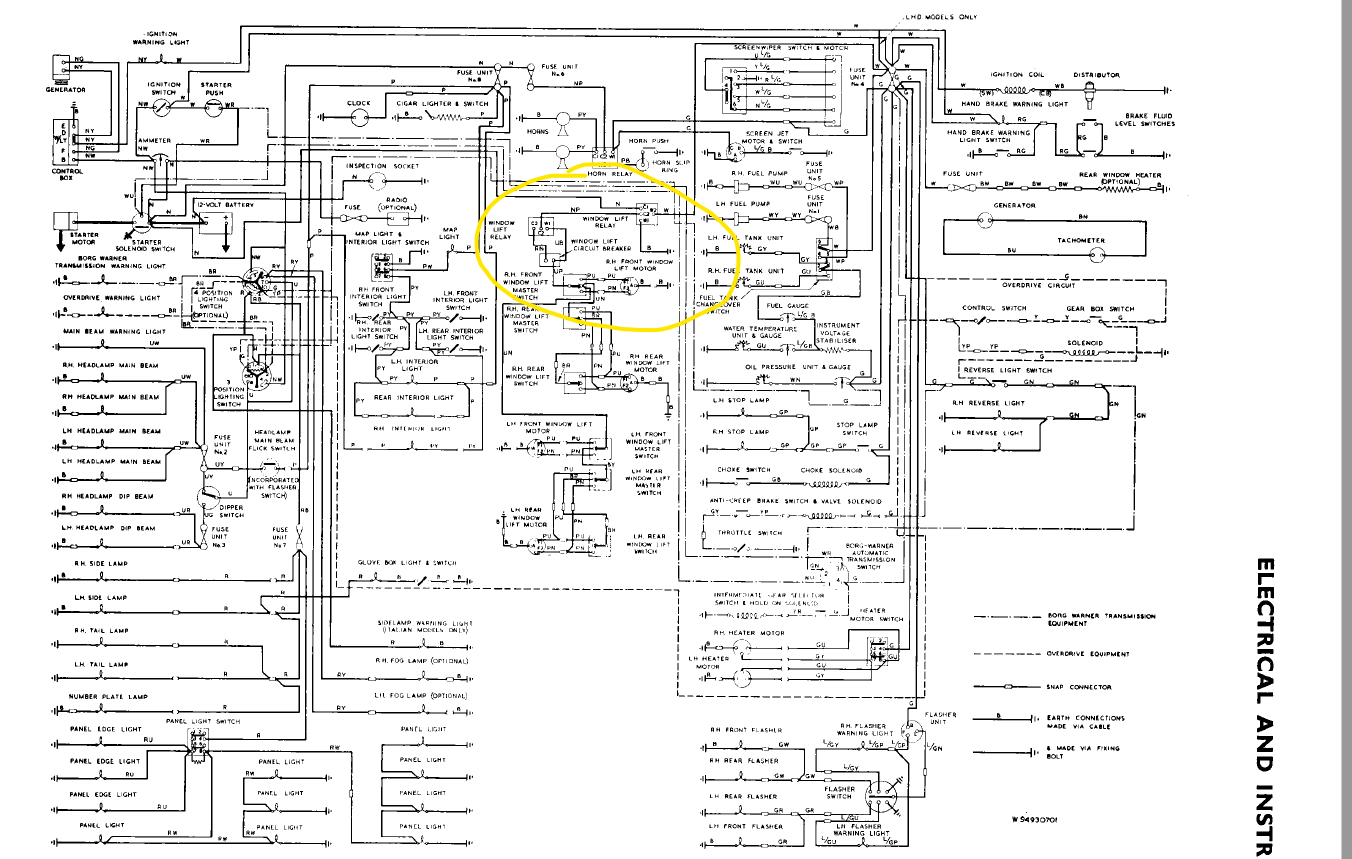 Electric Windows Circuitry In Mark X