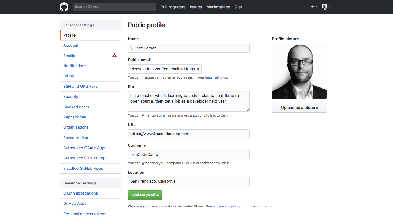 How to create a GitHub account and link it with your
