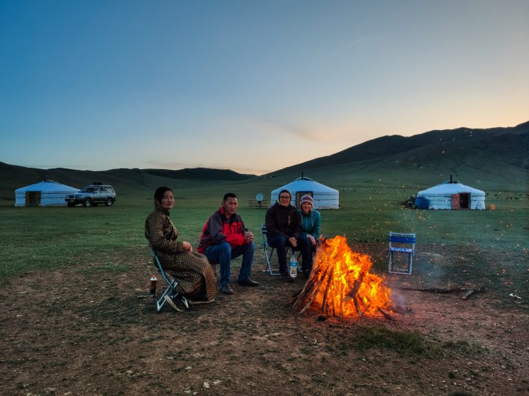 Nomadic Homestay in Central Mongolia.