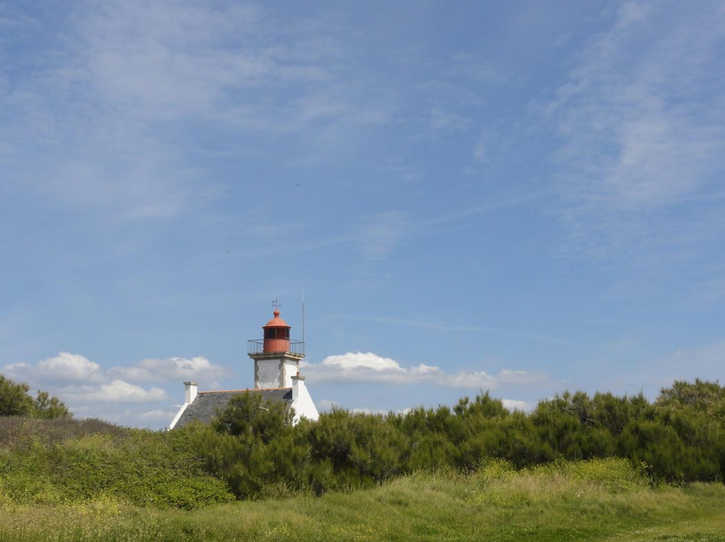 The lighthouse at Pointe des Chats, island of Groix, Discover Groix