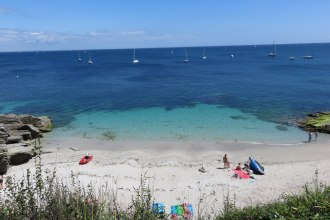 One of the coves around the VVF on the island of Groix