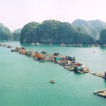 The world's prettiest small towns in Halong Bay