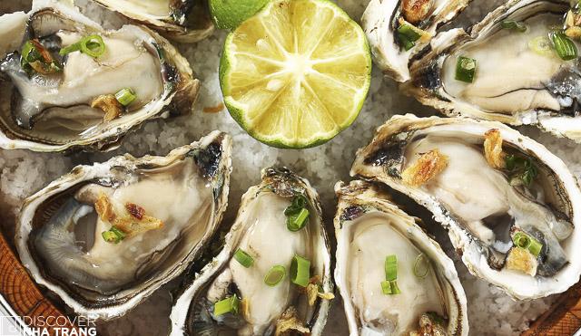 Fresh oysters-Zallo Restaurant-Nha Trang